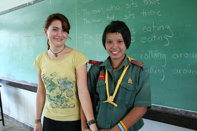 Vrijwilligerswerk leraar Engels in Thailand