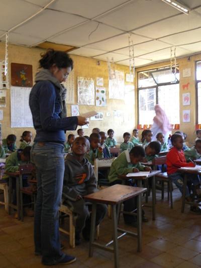 Vrijwilligerswerk leraar wetenschap in Ethiopië
