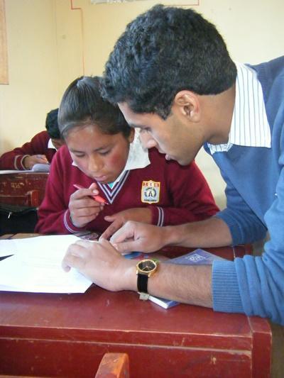 Leraar wiskunde in Peru