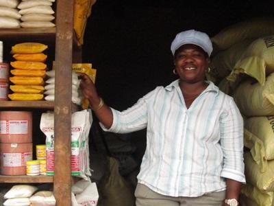Lokale ondernemer Tanzania microkrediet project