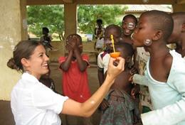 Sociaal en maatschappelijk vrijwilligerswerk in het buitenland: projecten voor professionals: Ghana
