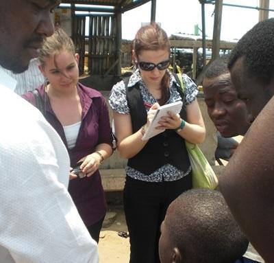 Mensenrechten vrijwilliger in Ghana