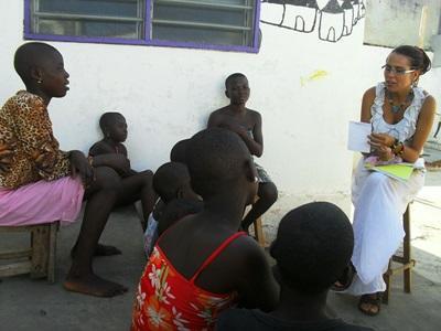Mensenrechten vrijwilliger in Togo