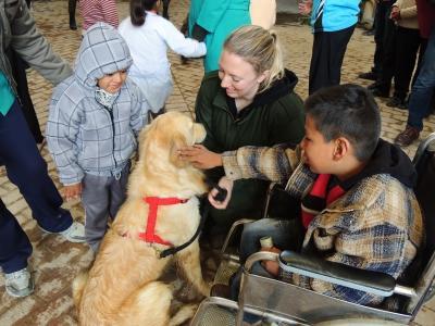 Vrijwilligerswerk hondentherapie in Bolivia