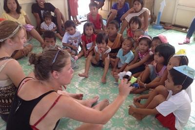 Vrijwilligerswerk sociaal project in de Filippijnen