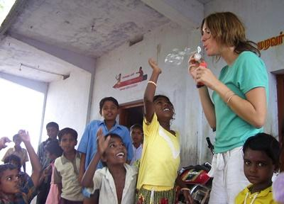Vrijwilligerswerk sociaal project in India