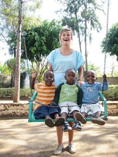 Schommelen in Kenia