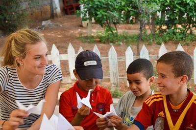 Doe vrijwilligerswerk op het Sociaal project in Marokko en help op een dagcentrum.