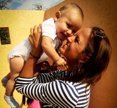 Werk met kinderen in Mexico