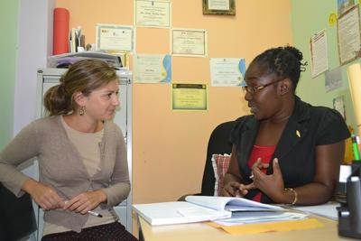 Als vrijwilliger op het psychologie project in Jamaica leer je veel van de lokale, professionele psychologen.