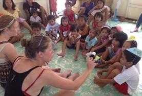 Sociaal vrijwilligerswerk met kinderen in het buitenland: Filippijnen