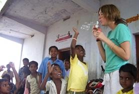 Vrijwilligerswerk in India: Sociale zorg