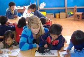 Sociaal vrijwilligerswerk met kinderen in het buitenland: Peru