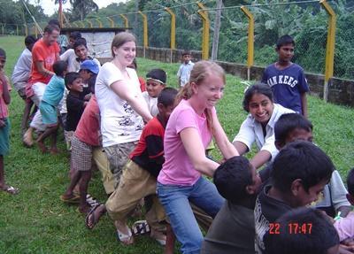 Sociaal project in Sri Lanka