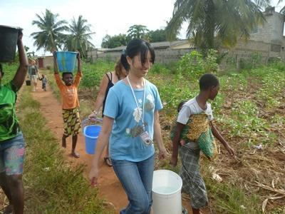 Vrijwilligerswerk sociaal project in Togo