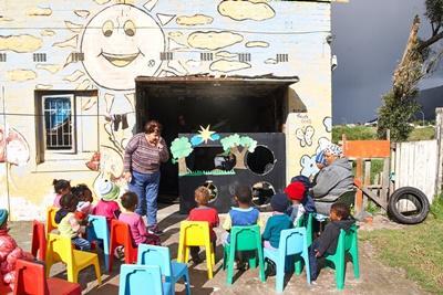 Doe vrijwilligerswerk op het Sociaal project in Zuid-Afrika en help in een kinderdagopvang.