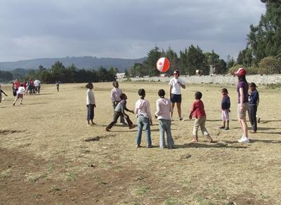 Sport project in Ehtiopië