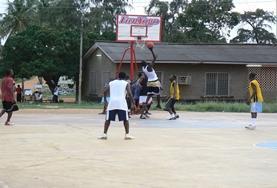 Sport projecten in het buitenland: Basketbal project