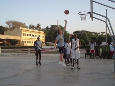 Basketbal project in Ghana