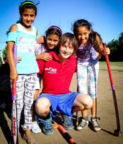 Vrijwilligerswerk community sport project in Argentinië
