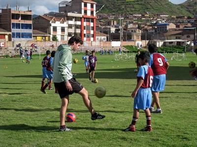 Vrijwilligerswerk Community sport project Peru