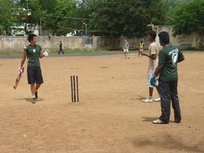 Cricket project in India