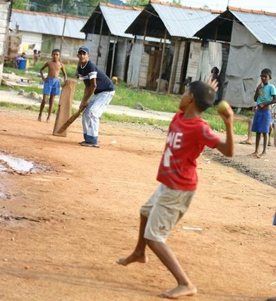 Sport project cricket in India