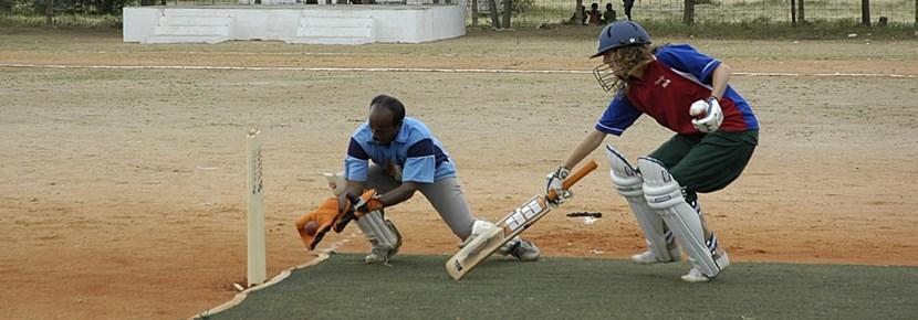 Vrijwilligerswerk sport project cricket