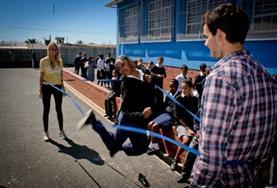 Gymles vrijwilligersproject in het buitenland: Zuid-Afrika