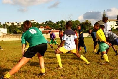 Vrijwilligerswerk sport project in Jamaica