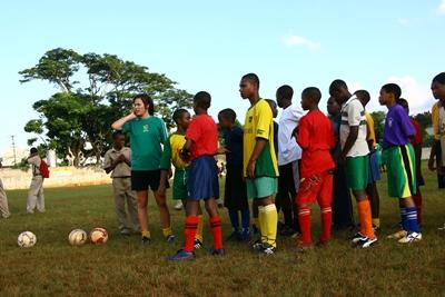 Sport project in Jamaica