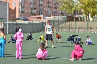 Vrijwilligerswerk sport project in Mongolië