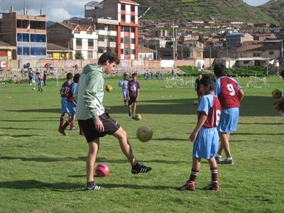 Sport project in Peru