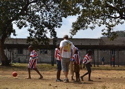 Vrijwilligerswerk sport project in Tanzania
