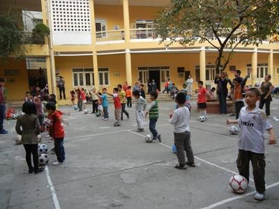 Vrijwilligerswerk sport project in Vietnam