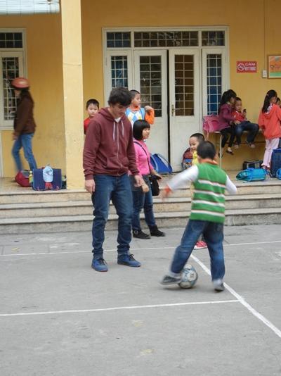 Sport project in Vietnam