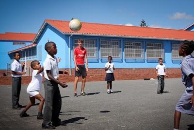 Sport project in Zuid-Afrika