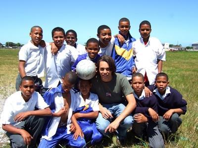 Sport les geven in Zuid-Afrika