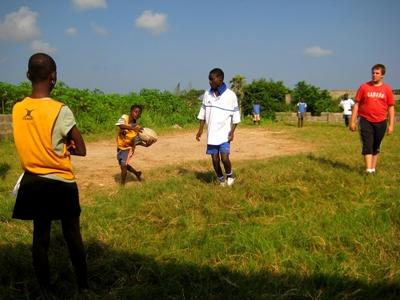 Rugby project in Ghana