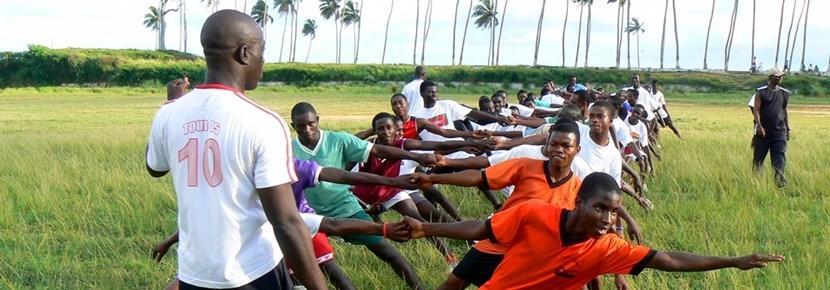 Vrijwilligerswerk sport project rugby