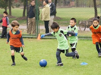 Vrijwilligerswerk voetbal project in China