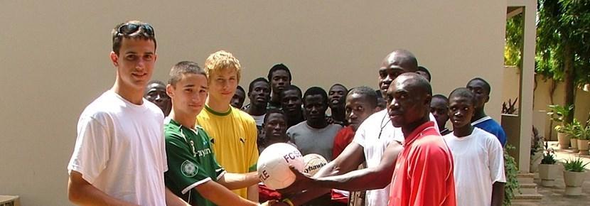 Vrijwilligerswerk sport project voetbal