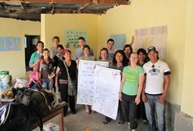 Engels leren in Bolivia doe je met behulp van een docent en je klasgenoten van over de hele wereld.