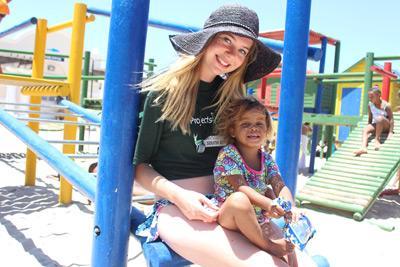 Help mee op het sociale project in Kaapstad tijdens de Global Gap wereldreis