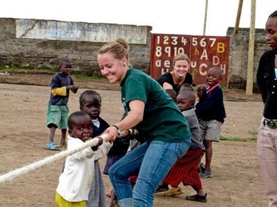 Tijdens de twintigersreis naar Ghana maak je vrienden met mensen uit de hele wereld.
