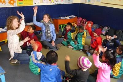 Ontdek tijdens de twintigersreizen de cultuur van Nepal en help mee in een kinderopvangcentrum