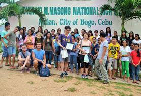 Als groep kun je een belangrijke bijdrage leveren op het bouw project in de Filippijnen.