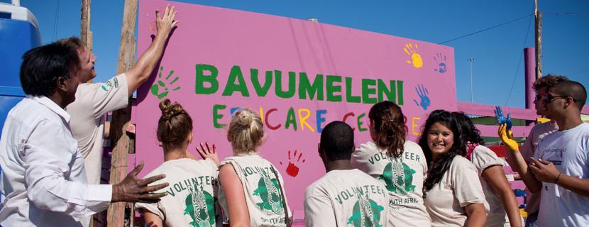 Bouw project Zuid-Afrika