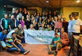 Een groep medische vrijwilligers blikt terug op een succesvol vrijwilligerswerk project in de Filippijnen.