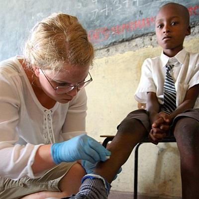 Medische Outreach in Kenia